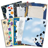 Graduation Border Papers Variety Pack