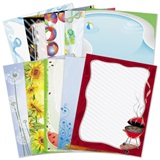 Summer Party Border Papers Variety Pack