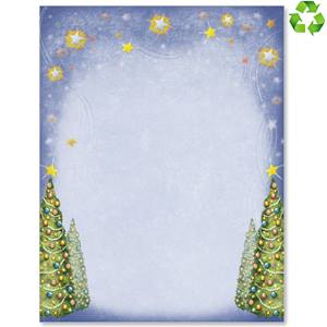 Holiday Sparkle Border Papers