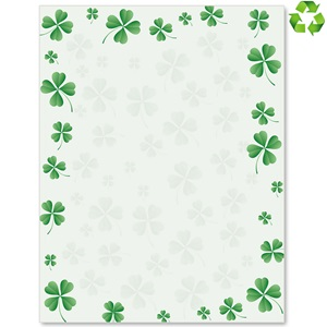 Dancing Clover Border Papers