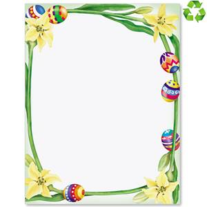 Easter Border Border Papers | PaperDirect's