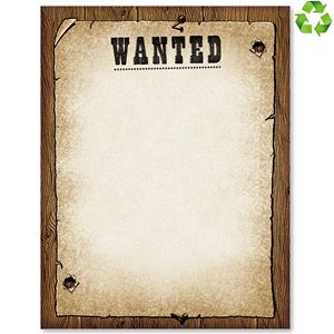 Wanted Border Papers