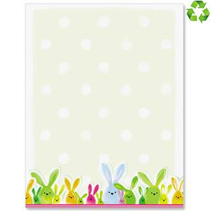 Bunny Hop Border Papers
