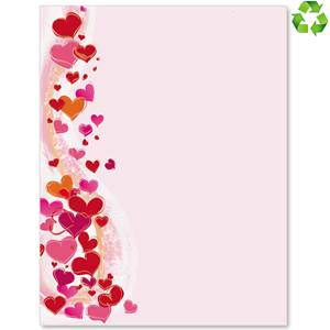 Delightful Hearts Border Papers