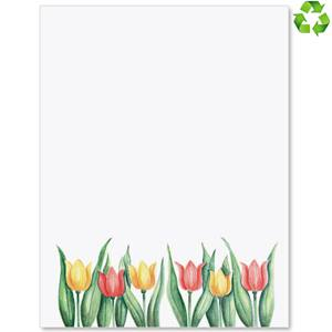 Tulips by Design Border Papers