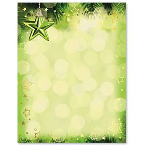 Holiday Peridot Specialty Border Papers