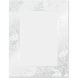 Sophisticated Snowflakes Specialty Border Papers