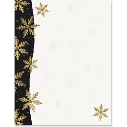 Gilded Snowflakes Specialty Border Papers