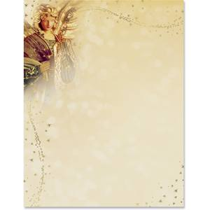 Angelic Light Specialty Border Papers Paperdirect S