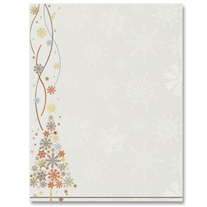 Sparkle Tree Specialty Border Papers