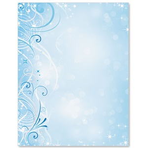 Fantastic Swirls Specialty Border Papers