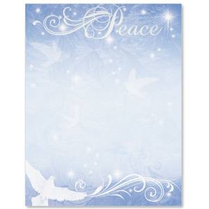 Peace and Harmony Specialty Border Papers