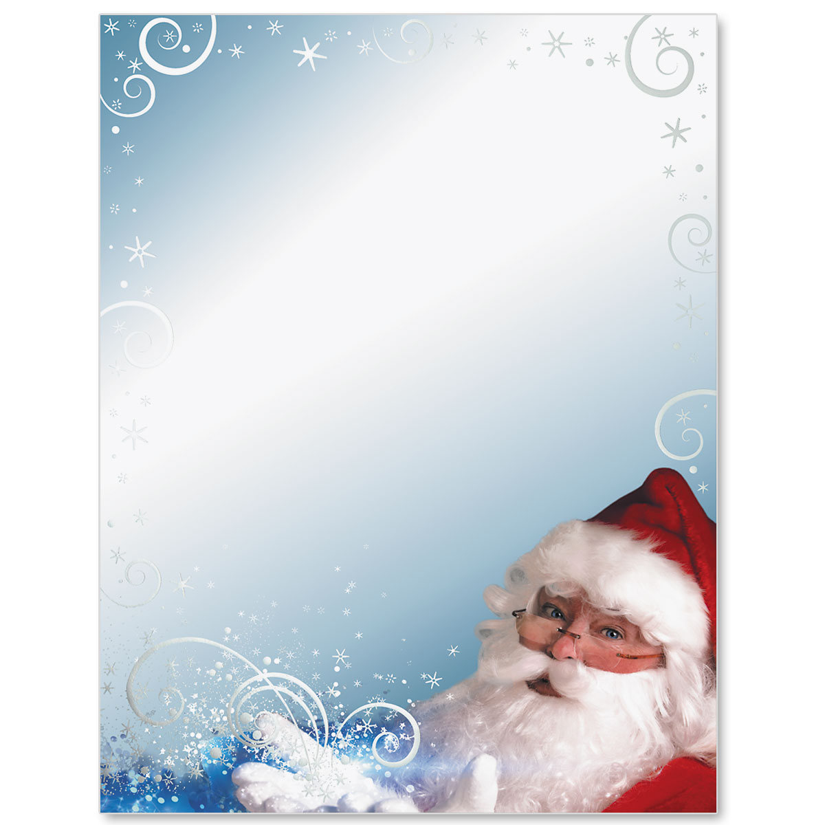 Santas magic specialty border papers paperdirects santas magic specialty border papers m4hsunfo Images