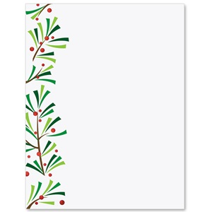Green Sprigs Specialty Border Papers