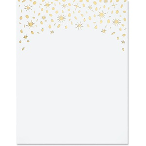 Sparkly Specialty Border Papers