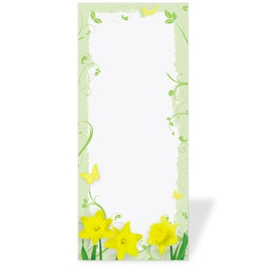 Daffodil Delight Rack Cards