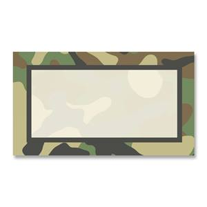 Camouflage business cards paperdirects camouflage business cards colourmoves