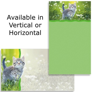 Cat In Grass Business Cards