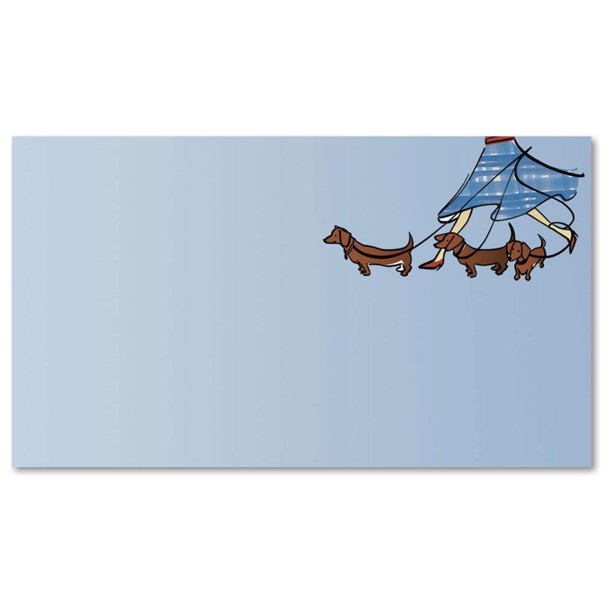 Dog walker business cards paperdirects dog walker business cards colourmoves