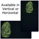Fingerprint Business Cards