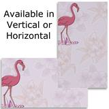 Flamingo Flowers Business Cards