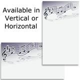 Music Staff Notes Business Cards