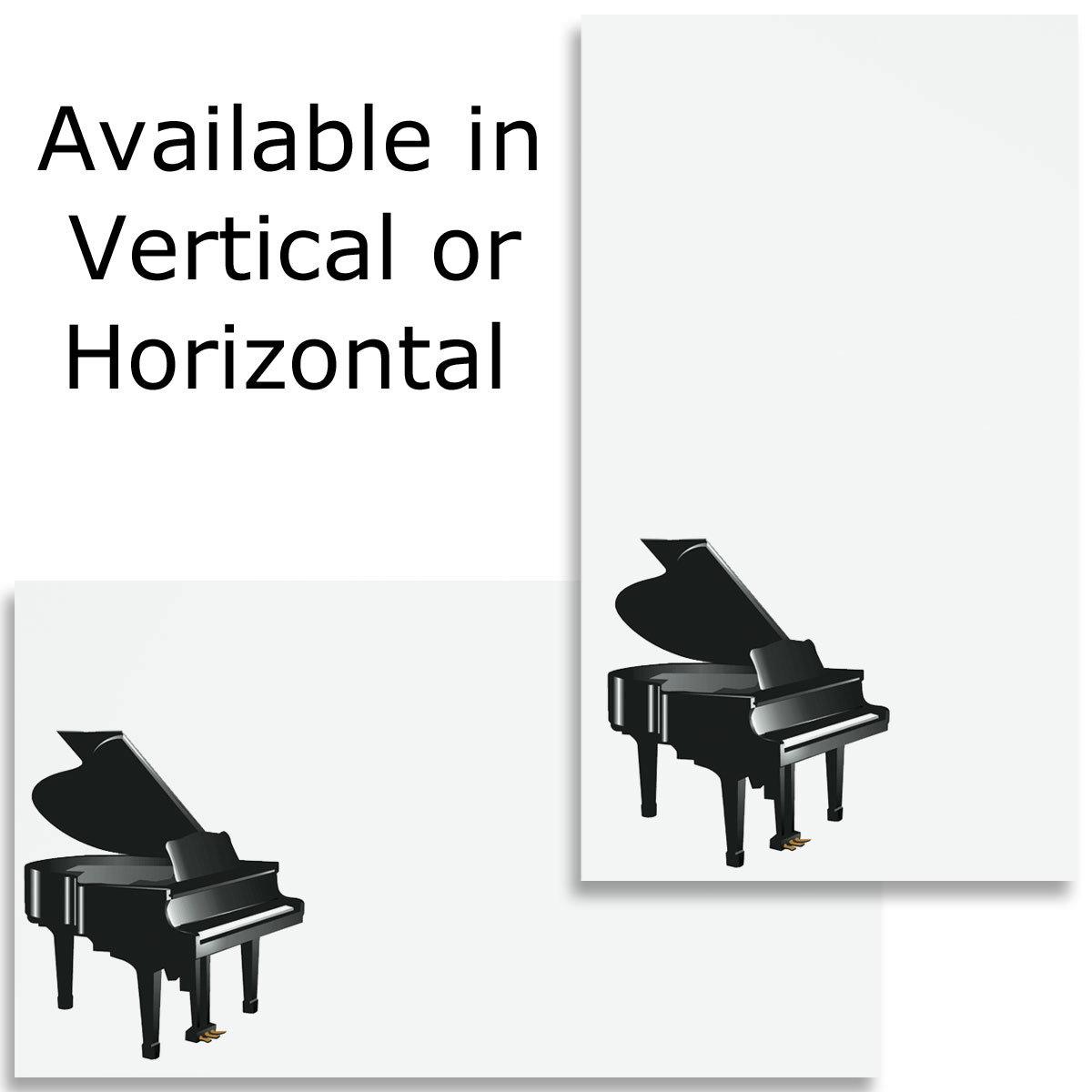 Grand Piano Business Cards Paperdirects