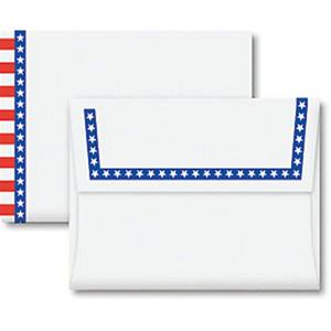 Star Spangled A2 Envelopes