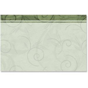 viridian scroll crescent envelopes paperdirect s