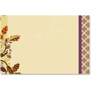 Autumn Accents Crescent Envelopes