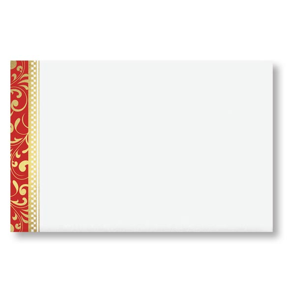elaborate christmas crescent envelope paperdirect s