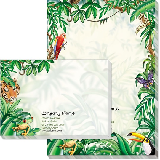 Rain Forest Post-it Notes | PaperDirect's