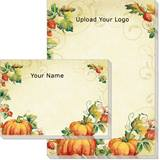 CUSTOM Pumpkin Spice Post-it Notes