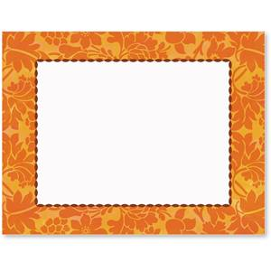 Persimmon Silk Postcards