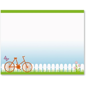 Spring Bike Ride Postcards