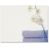 Spa Towels Flowers Postcards