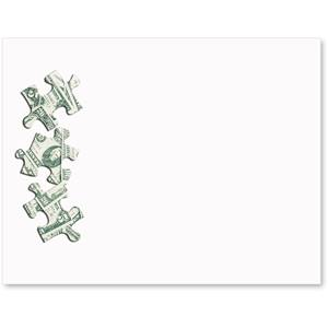 Money Puzzle Postcards