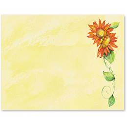 Autumn Sunflowers Postcards