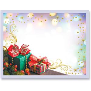 Gift Giving Specialty Postcard