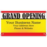 Grand Opening Vinyl Banners