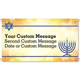 Hanukkah Celebration Vinyl Banners