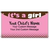 Its a Girl Vinyl Banners