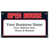 Open House Vinyl Banners