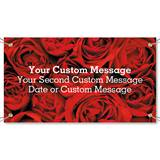 Red Red Rose Vinyl Banners