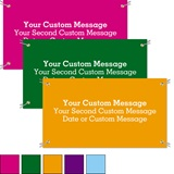 Brights Custom Color Vinyl Banners