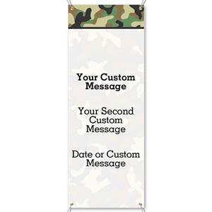 Camouflage Vertical Banners