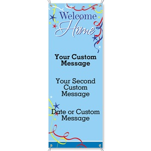 Welcome Home Vertical Banners