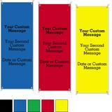 Brights Primary Colors Vertical Banners