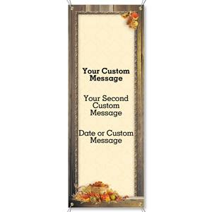 Autumn Treasures Fabric Vertical Banners