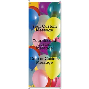 Balloons Bright Vertical Banners